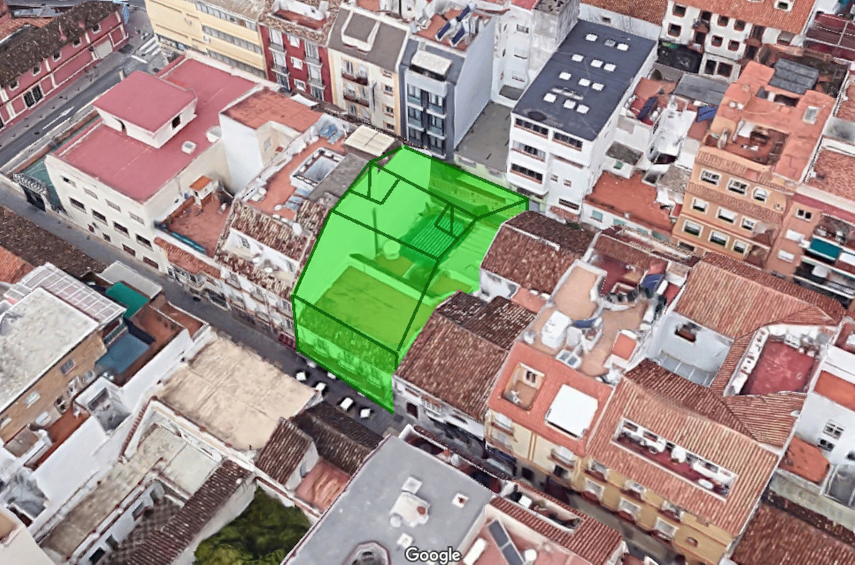 Plot for sale in the heart of the city of Fuengirola.  Its buildable area and location stand out fro,Spain