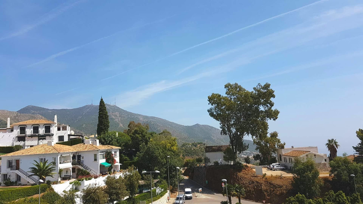 Unique property with large terrace in the middle of Mijas Pueblo!  This modern fully renovated penth, Spain