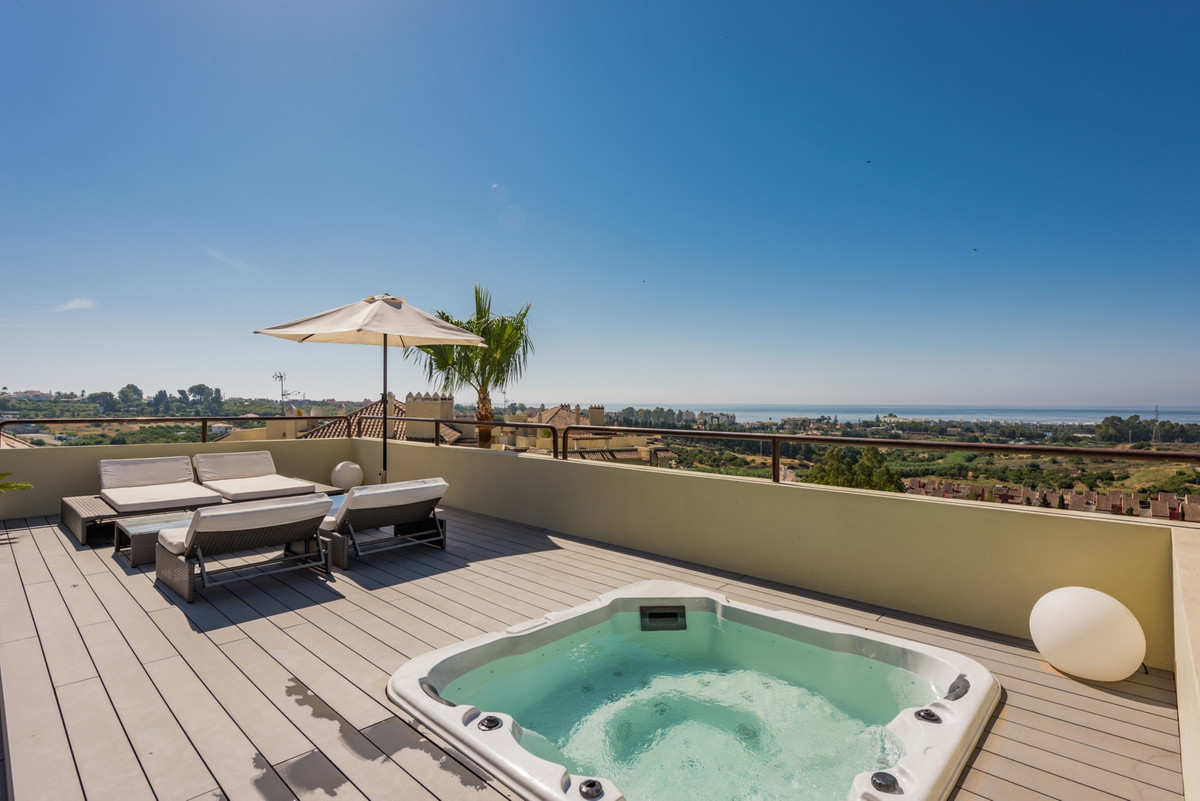 Selwo, East Estepona  Situated ideally between San Pedro and Estepona, this duplex penthouse has bee, Spain