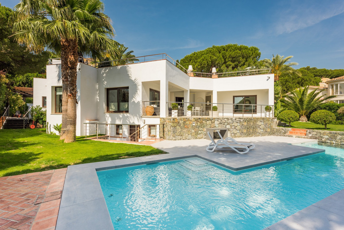 Nueva Andalucia, Golf Valley  This renovated contemporary villa is ideally situated in a tranquil re,Spain