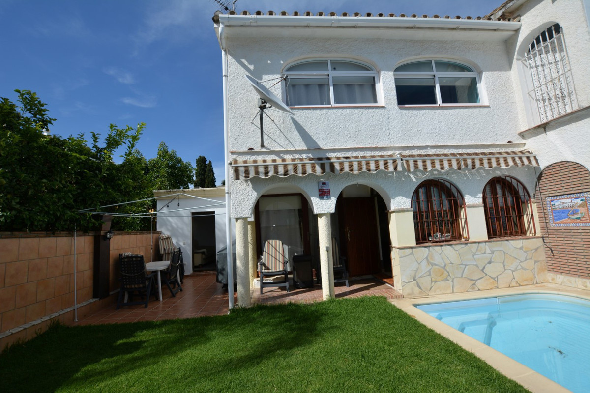 LOVELY HOUSE WITH PRIVATE SWIMMING POOL, A FEW METERS OF THE BEST BEACHES OF MARBELLA.  Three bedroo,Spain
