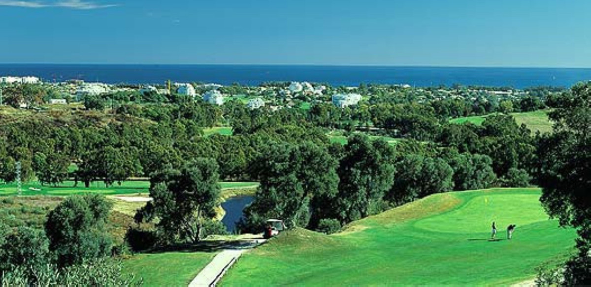 Magnificent plot with 180º views of the sea and the Golf Course of La Alqueria. The building percent,Spain