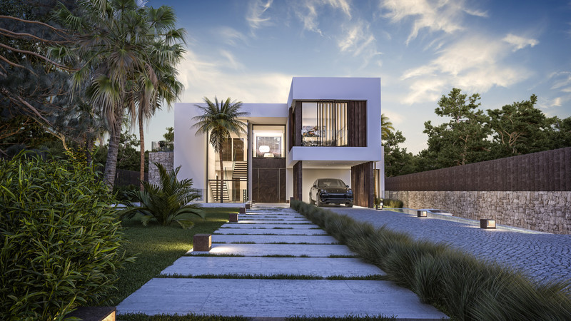 Villas for sale in Guadalmina 1