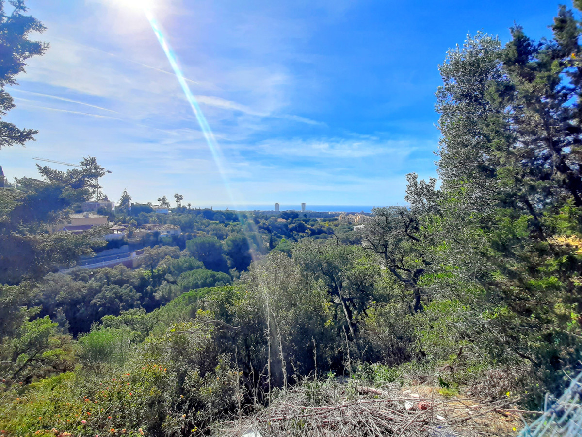 Residential plot with sea views for sale in Elviria, one of the most sought after areas in Marbella ,Spain