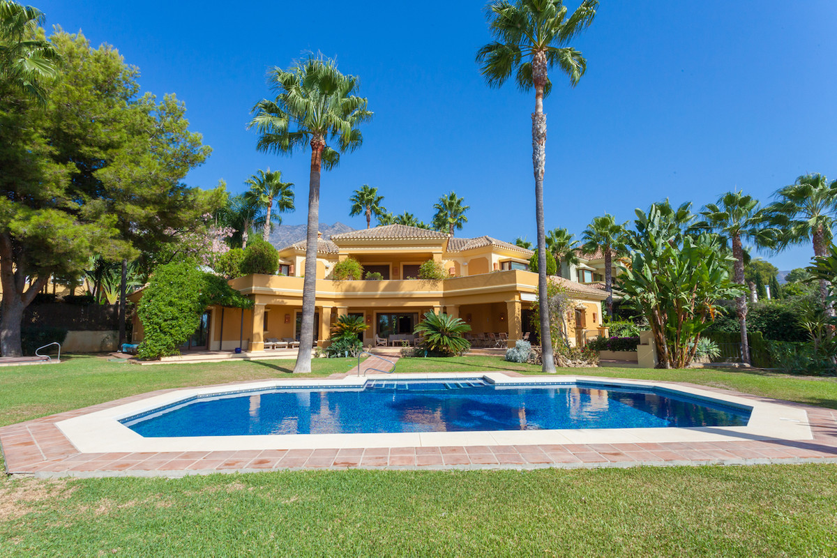 Situated in the heart of Marbella's Golden Mile in the exclusive gated community of Altos Reales, pr Spain