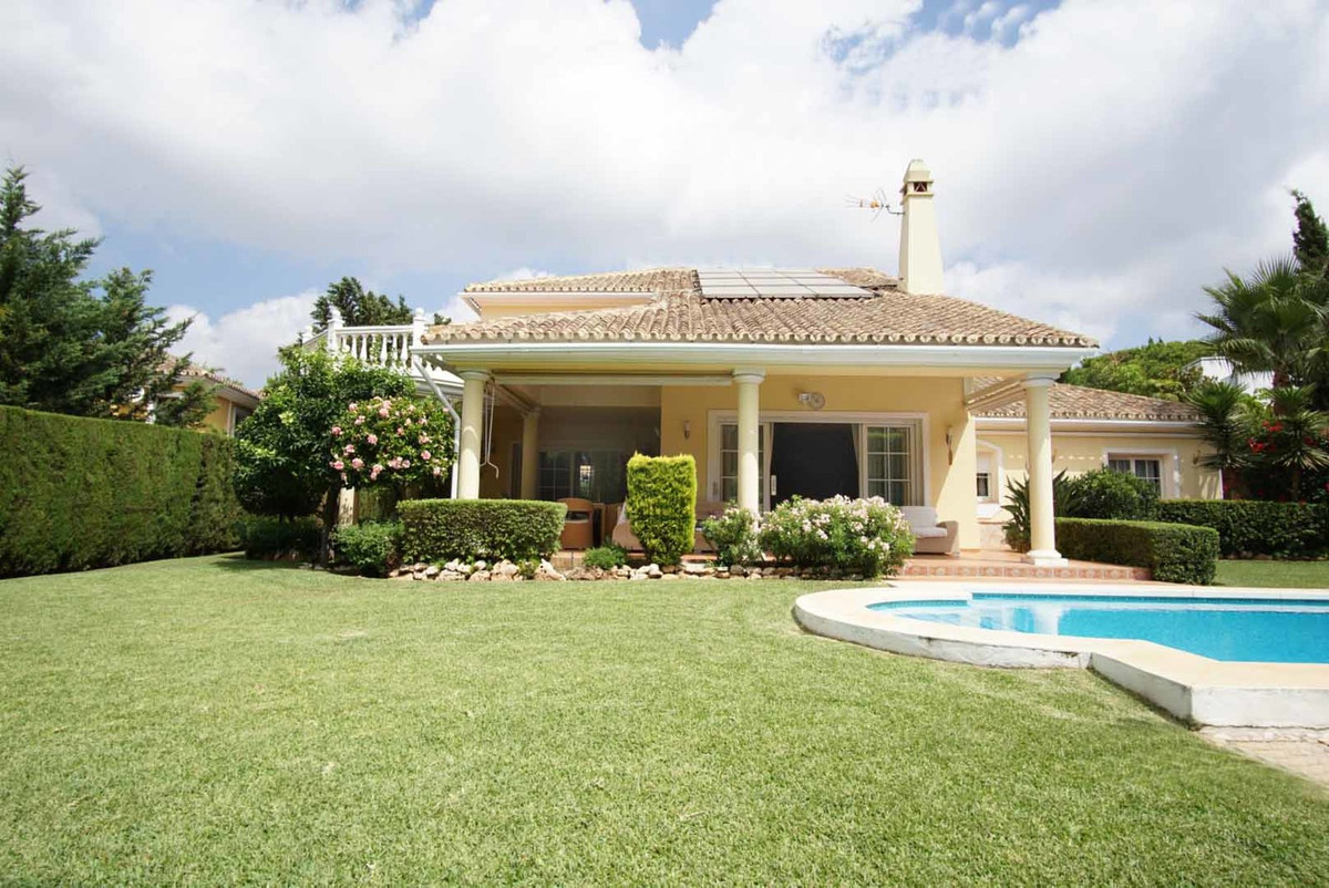 Beachside Villa at Marbesa, Marbella. A beautiful Beachside villa only 1 km stroll to some of the be,Spain