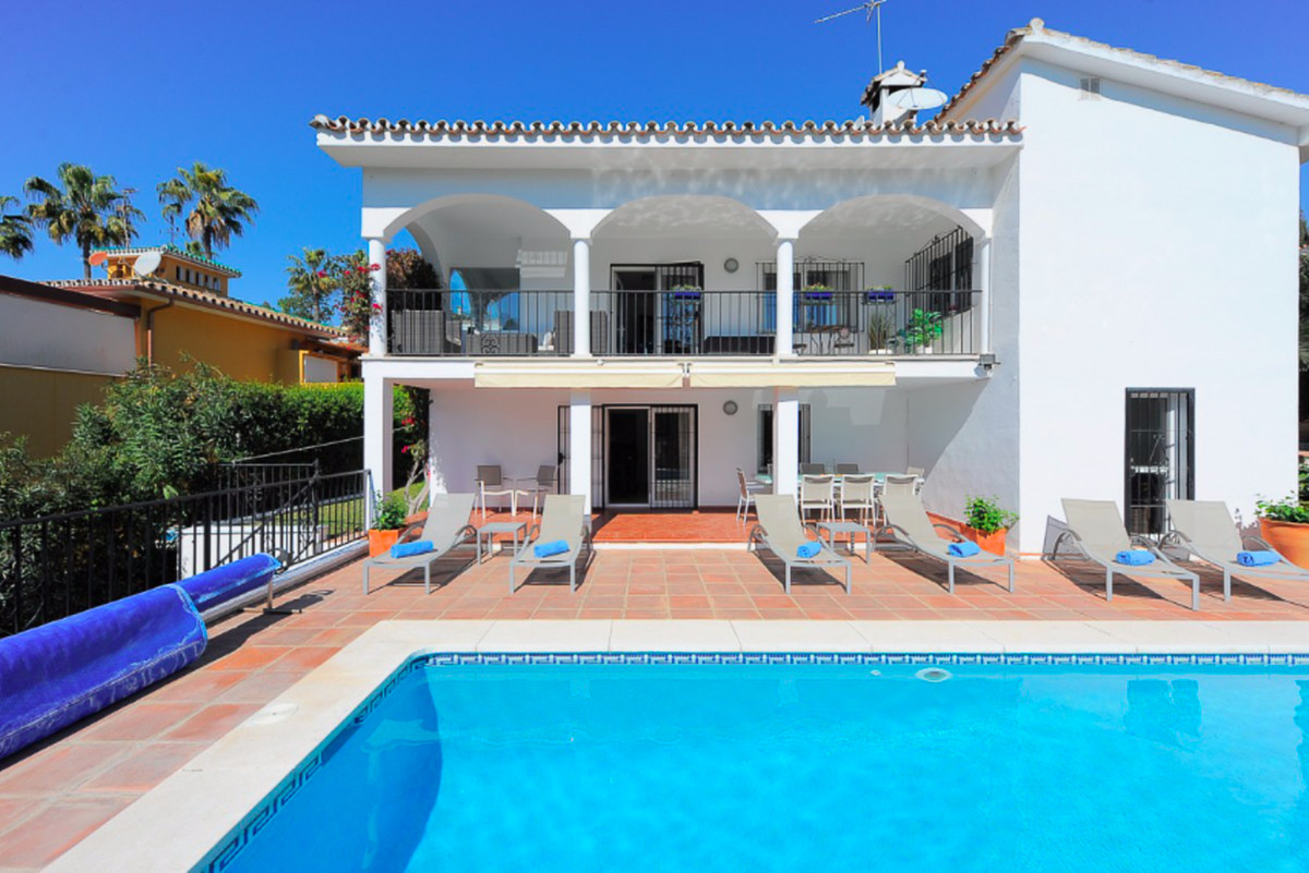 This charming Andalusian style villa is located in Carib Playa, one of the most sought after beachsi,Spain