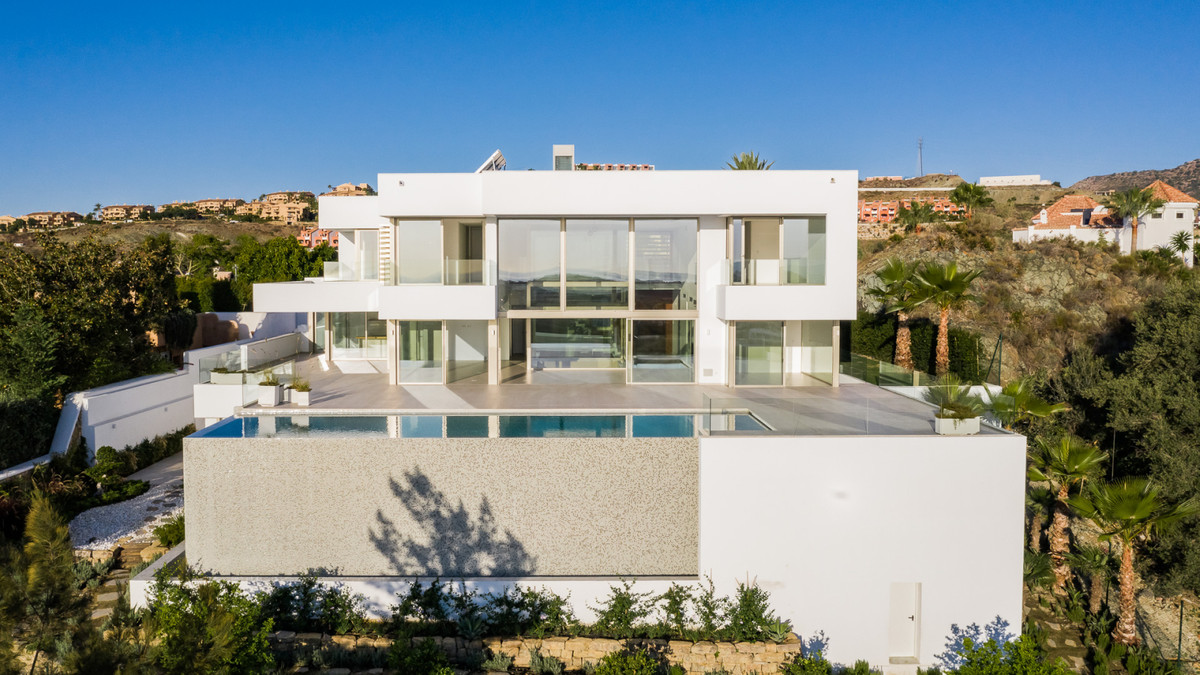 Really unique new build  villa,  spectacular panoramic views over the golf course the Mediterranean ,Spain