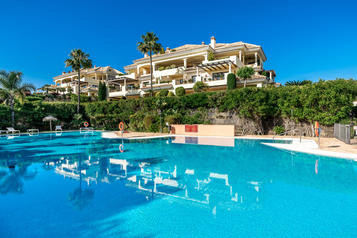 Duplex-penthouse with sea views is situated in a secluded and peaceful neighbourhood with beautiful ,Spain