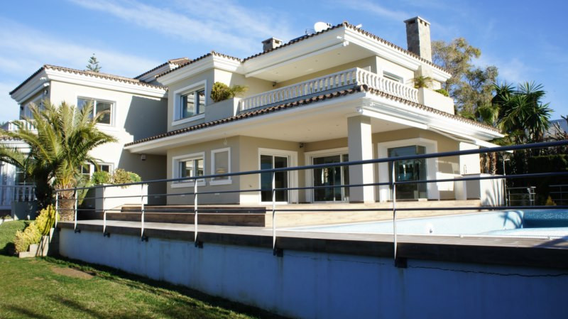 Modern 2 level villa with panoramic views of the sea, tastefully decorated for maximum comfort with , Spain