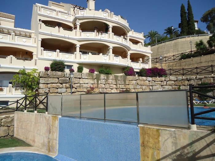 Apartment is located in an quite prestigious area of Marbella in Elviria . building area is ??190  s,Spain
