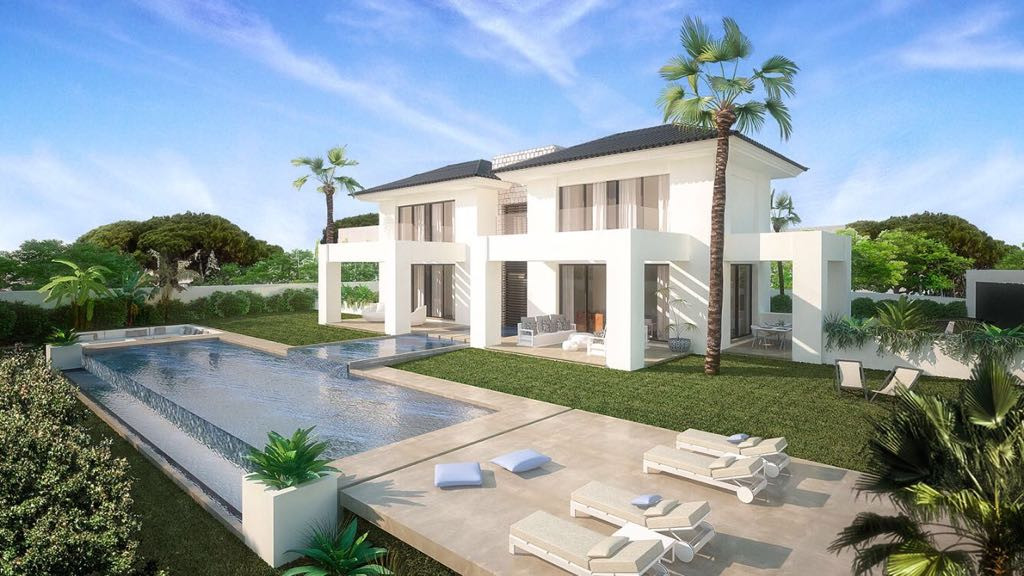 Exceptionally designed contemporary villa, situated in Marbella, Nueva Andalucia, in one of the most,Spain