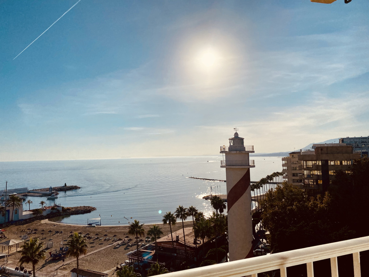 Location location location! Two penthouse conjuncted into one, in front of the Marbella Marina Depor,Spain