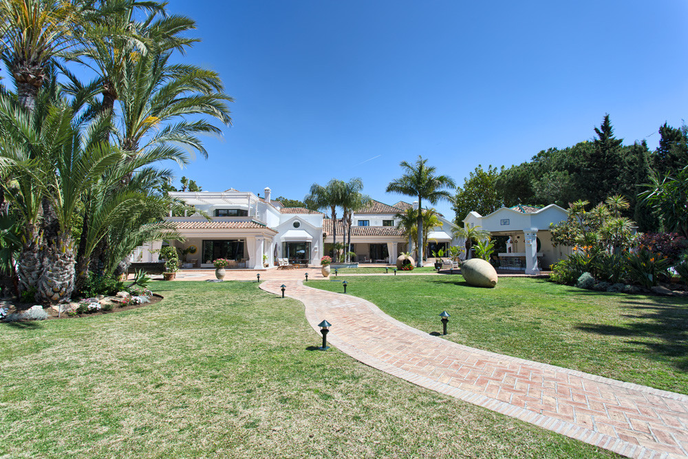 This truly spectacular property is one of the finest homes on the Costa del Sol.  Situated on an ext,Spain