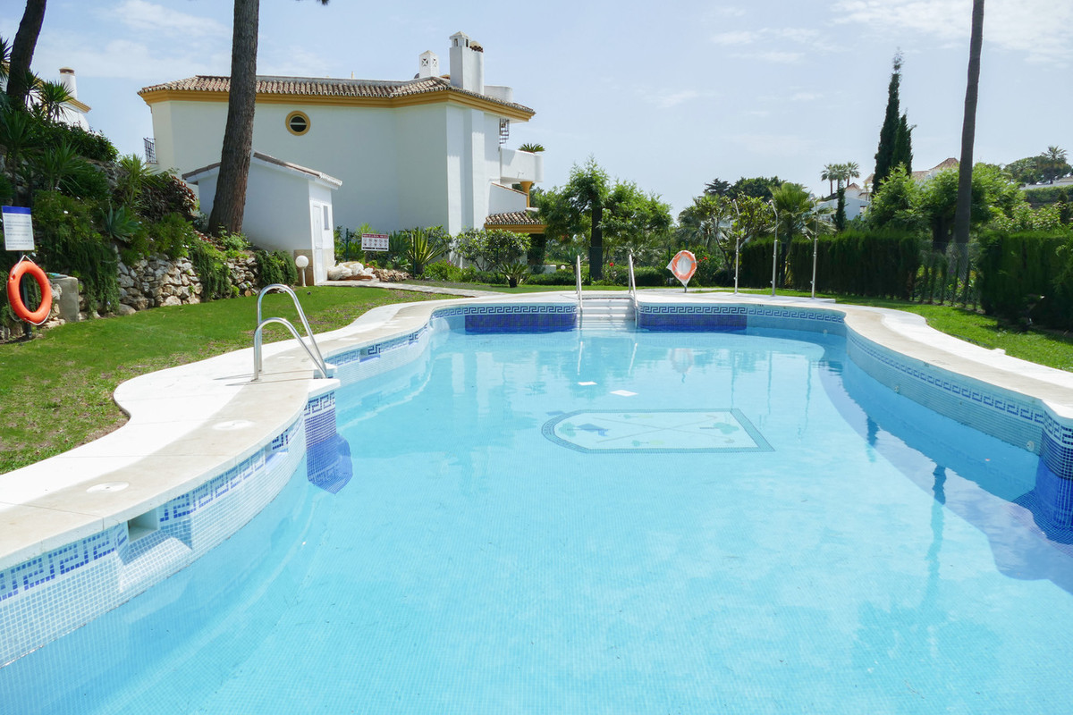 Pretty two bedroom, frontline golf ground floor apartment situated on one of the most prestigious an,Spain