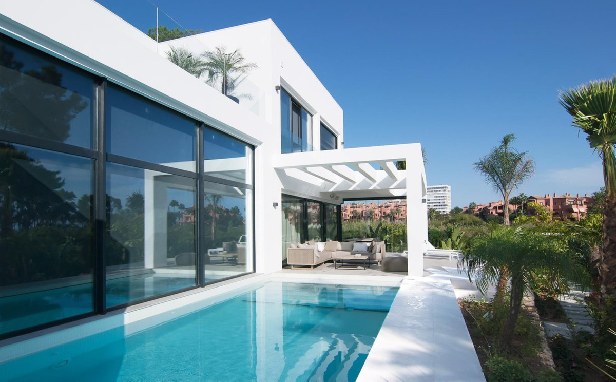 VILLA IN LOS MONTEROS BEACH, MARBELLA EAST - 200 m. FROM THE BEACH  Extraordinary residence which ha,Spain
