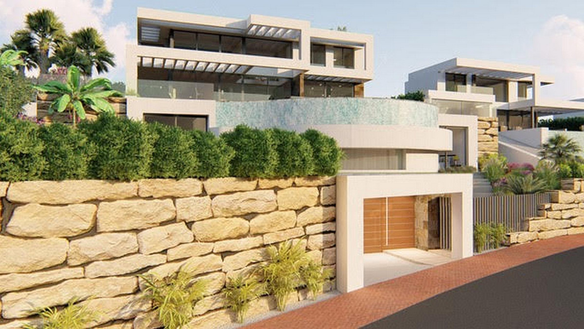 Absolutely stunning villa under construction in one of the most sought after areas in the municipali,Spain