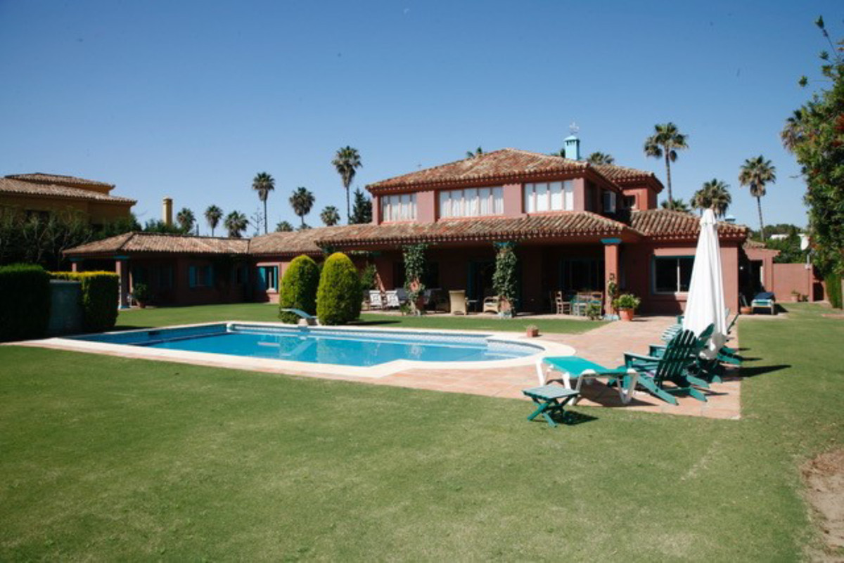 Unique villa located in the best area of Sotogrande, close to the famous port, beaches, amenities, l, Spain