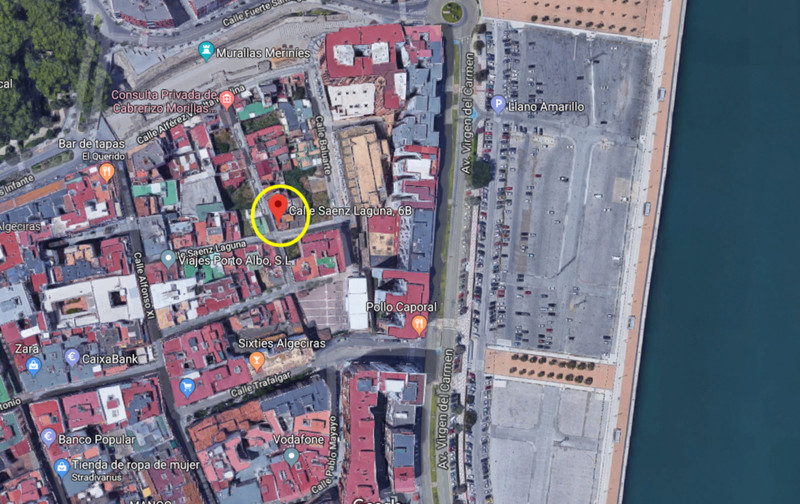 Residential Plot in Algeciras for sale