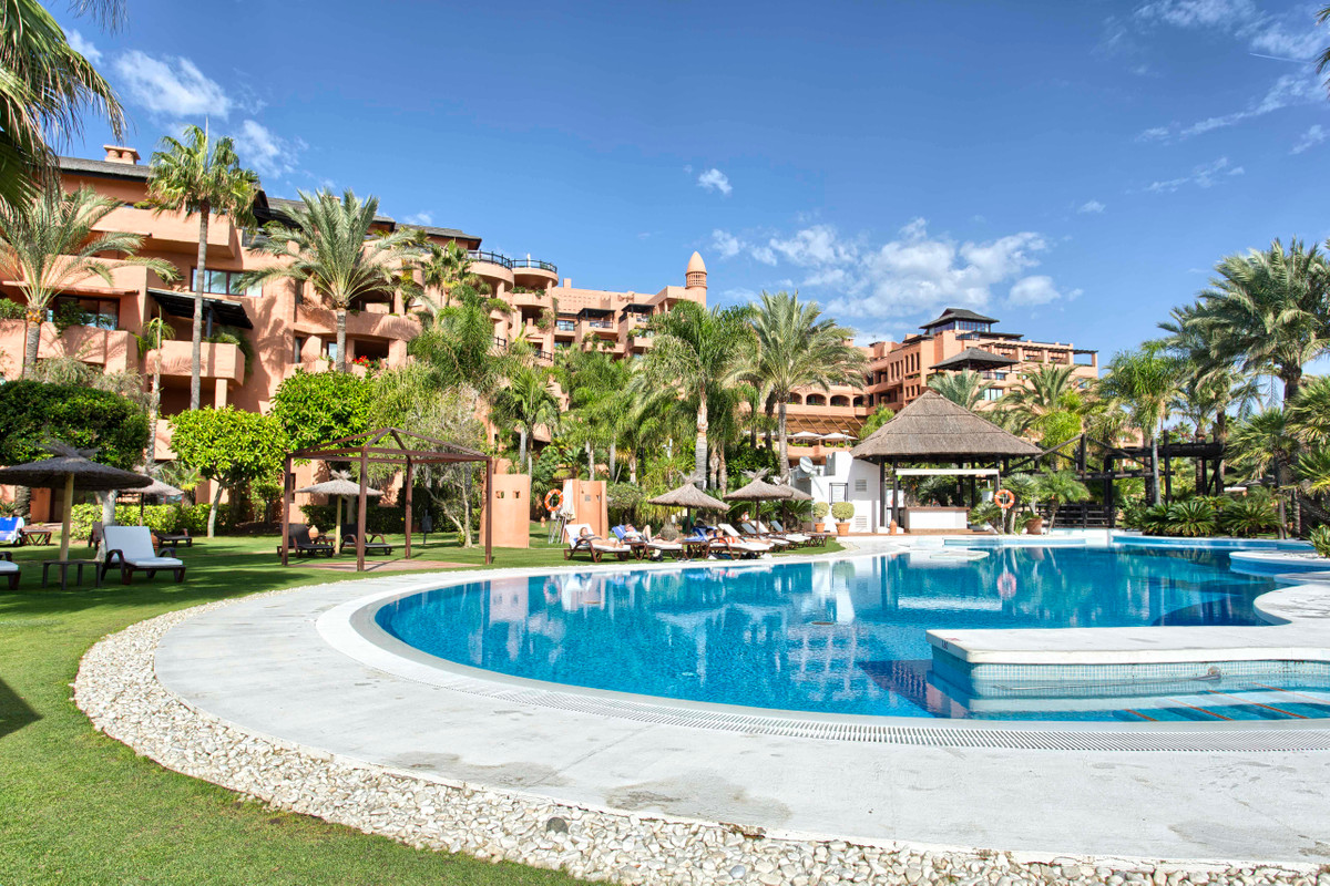 Luxury two bedroom apartment for sale with sea views  located in 5* Hotel Kempinski.  Southwest faci, Spain