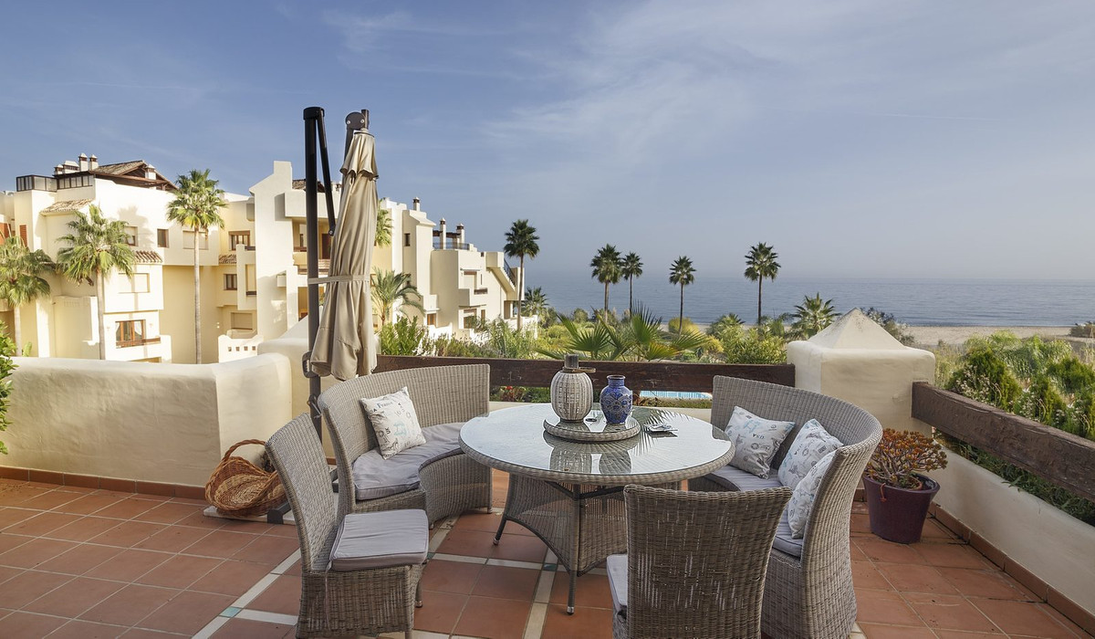 This Duplex penthouse is located in the well established complex of Bahia del Velerin, 5 minutes fro,Spain