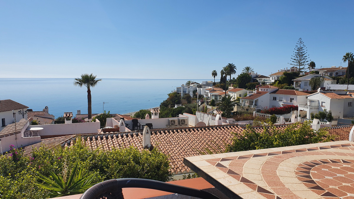 For sale we have a lovely 2 bedroom semi-detached house with south facing sea views in the very soug, Spain