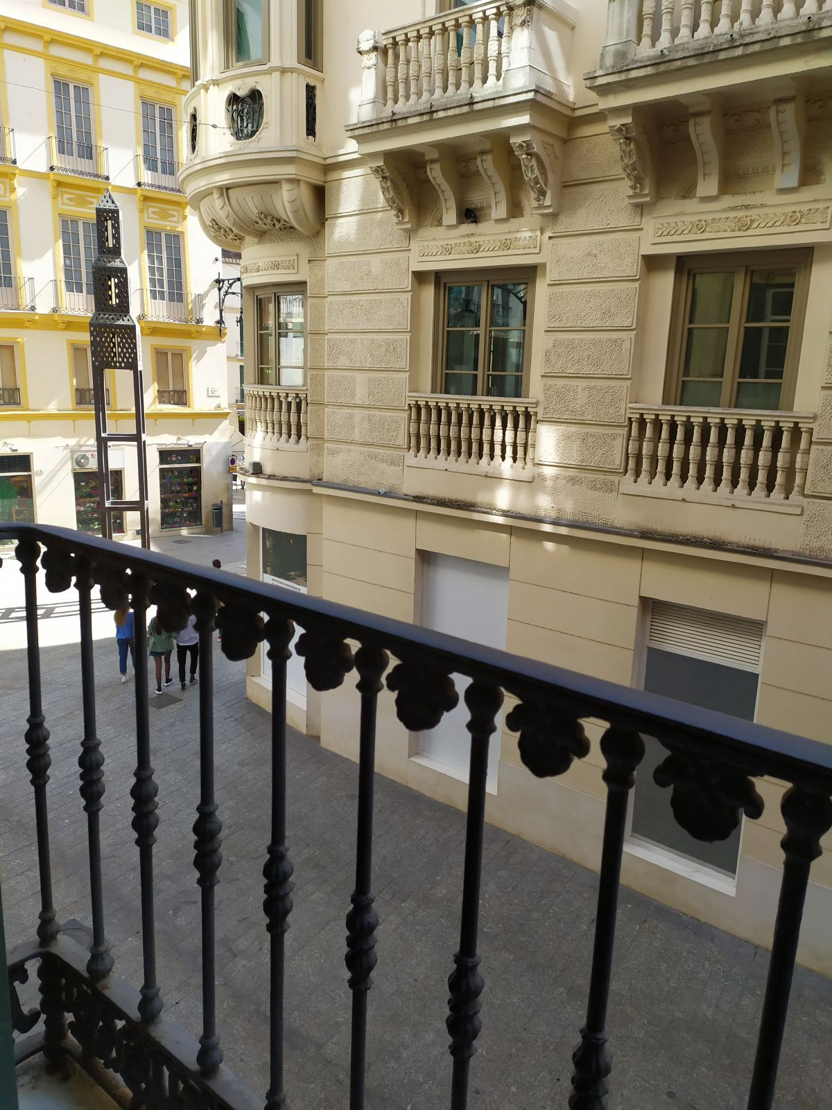 MALAGA CENTRO HISTORICO - Stunning studio apartment in the heart of Malaga with private balconies an, Spain