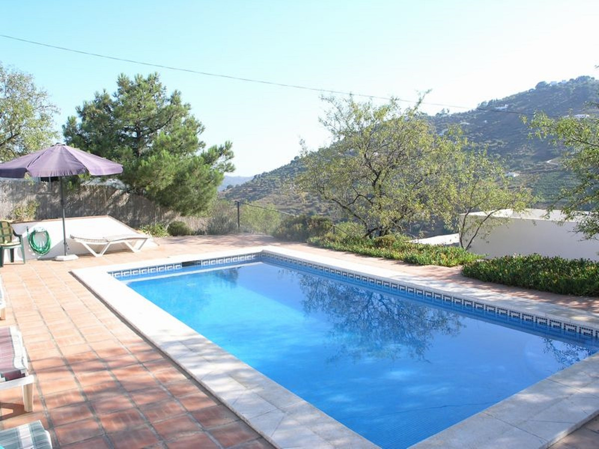 A rustic style 4 bed villa with great access, fantastic views over Competa countryside.  A well appo,Spain
