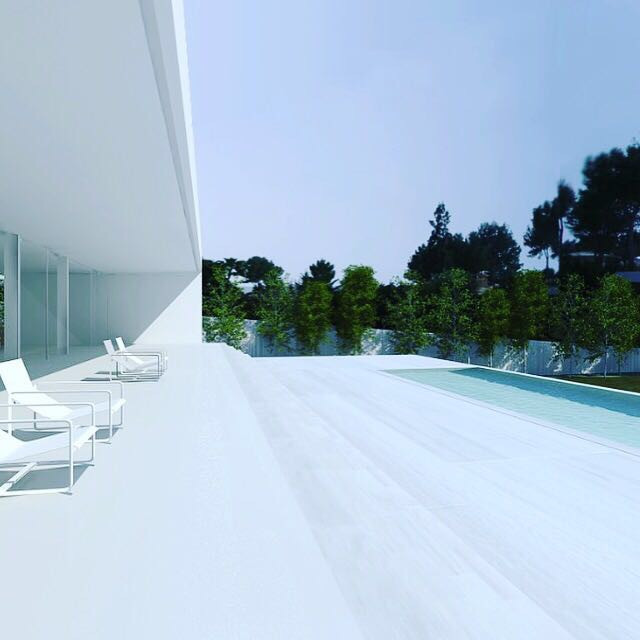 Son Vida new brand new solar villa: 3080m2 built: 1200 m2. 4 rooms in suite. Radiant floors of white, Spain