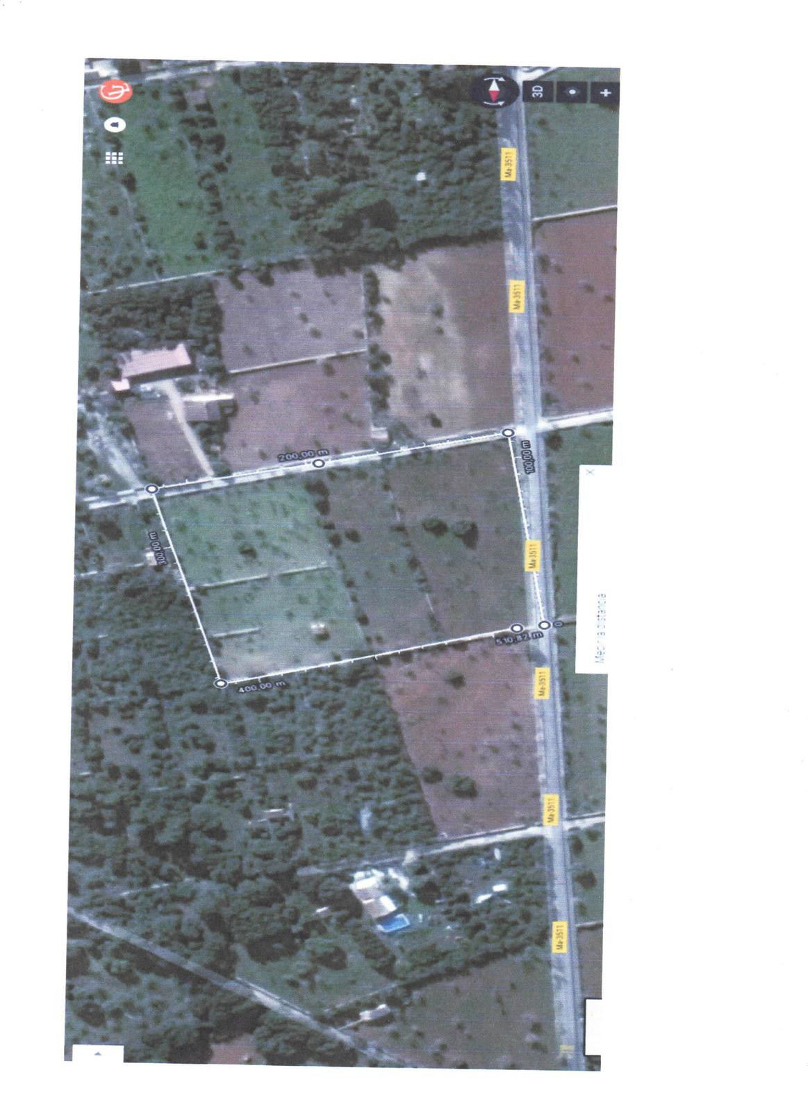Land in Sineu with two buildings one of 42 m2 and another of 17m2., According to the technical repor, Spain