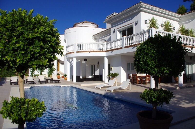 Villa Detached Mijas Málaga Costa del Sol R3360073