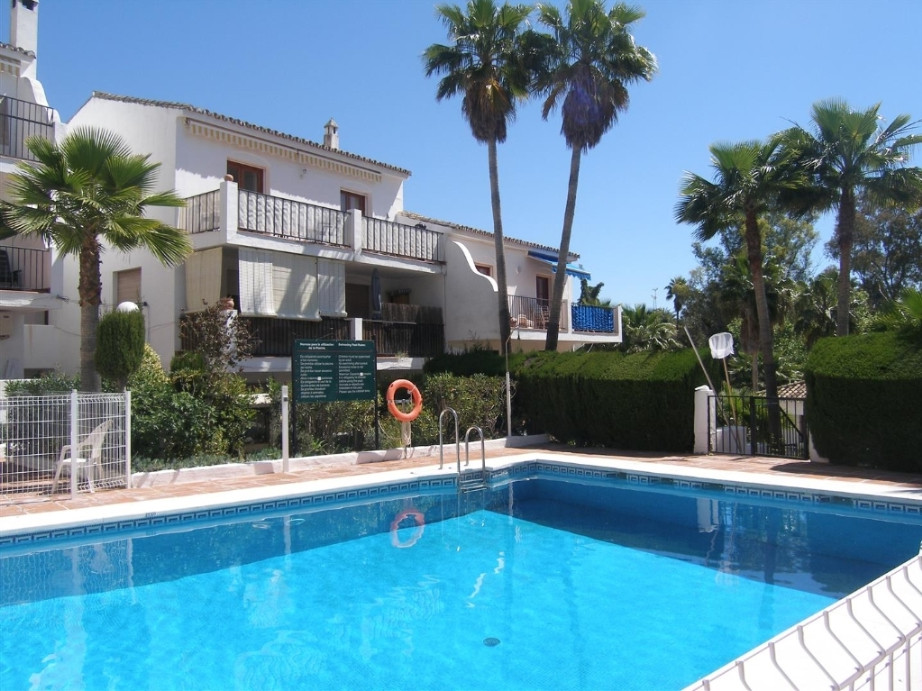LEW HOAD TENNIS CLUB VILLAGE COMPLEX.  Very popular and sought after urbanisation with Tennis player,Spain