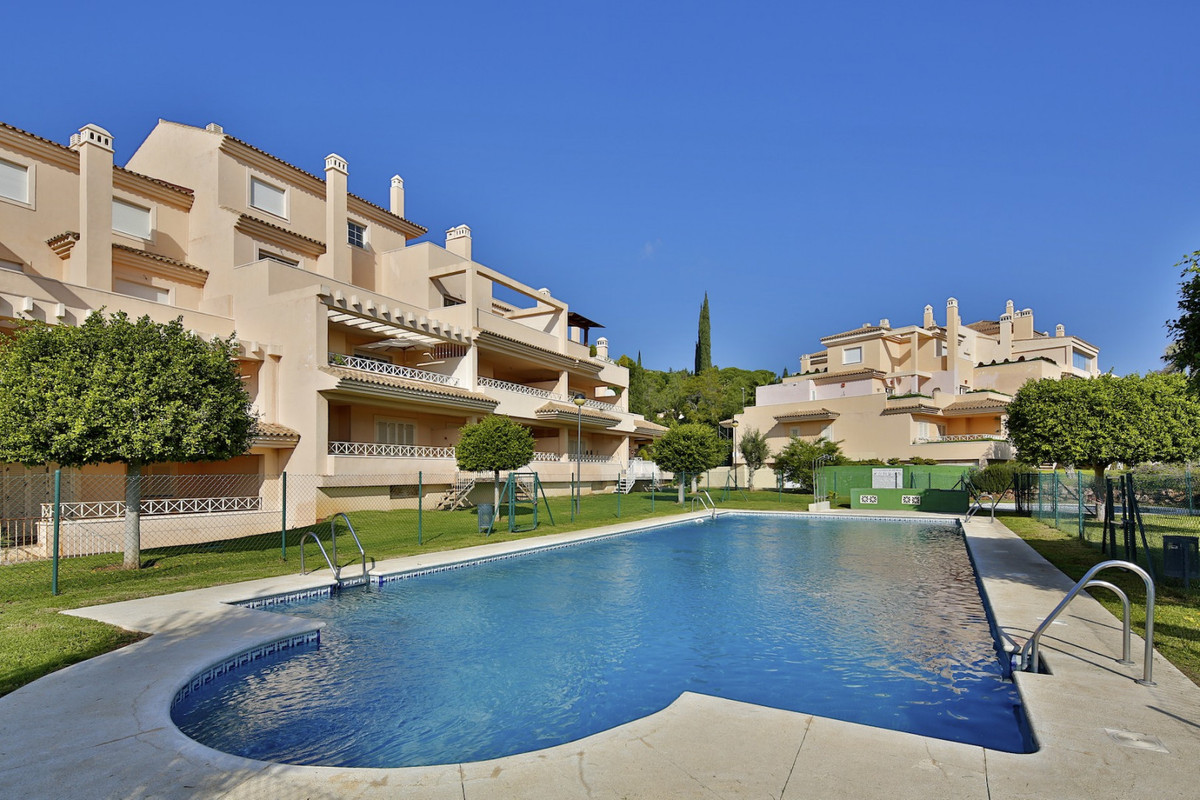 RENTED- Luxury apartment with sea views for sale in Rio Real, Marbella. The property on the first fl,Spain