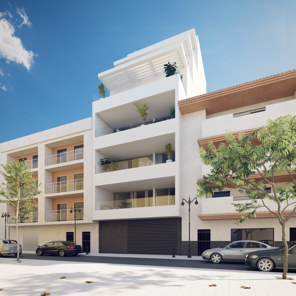 <p>This development is a new landmark building on Estepona: its seafront location offers the p,Spain