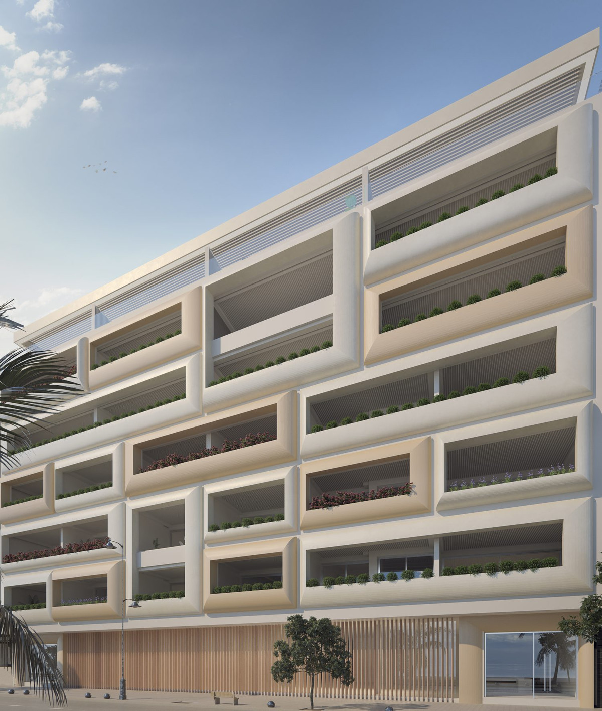 This development is a new landmark building on Estepona: its seafront location offers the privilege ,Spain