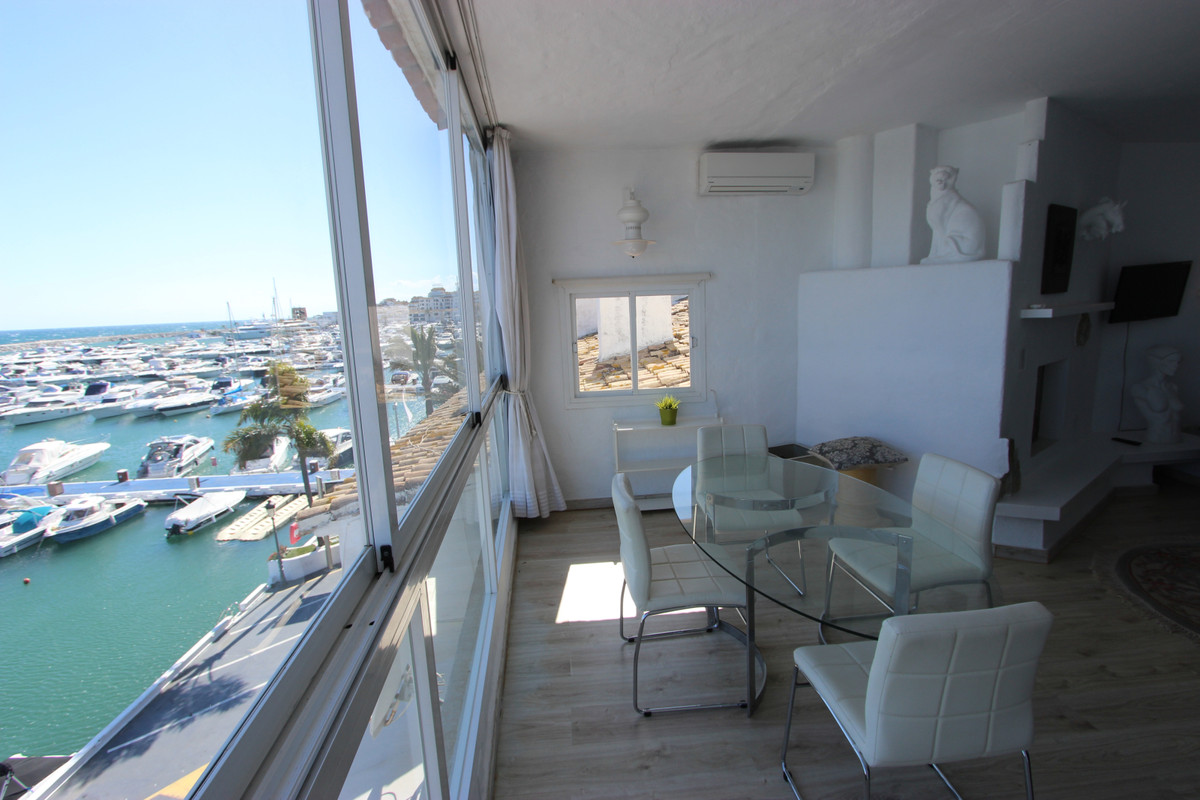 Lovely one bed apartment for sell in the first line of Puerto Banus, with stunning sea views, great , Spain