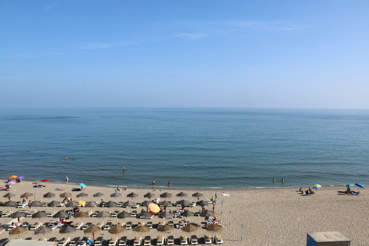 Fantastic front line beach property in Victoria Towers, Fuengriola Paseo Martimo.  This unique 4th f,Spain