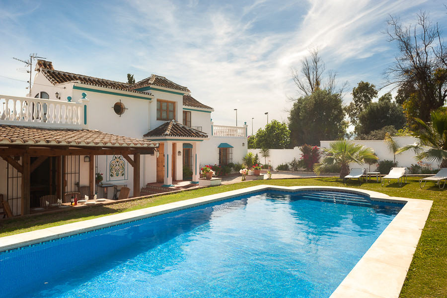 This is a beautiful spanish style villa located walking distance to the beach and to Marbella town. ,Spain