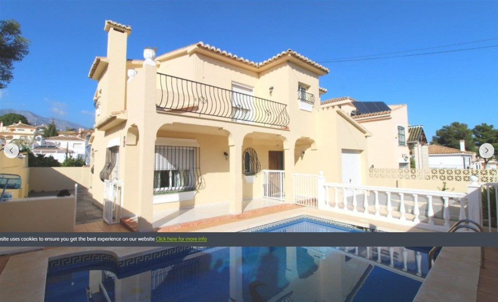 Originally listed at 465.000 € now reduced to 420.000 € . Excellent villa that we found in one of th,Spain