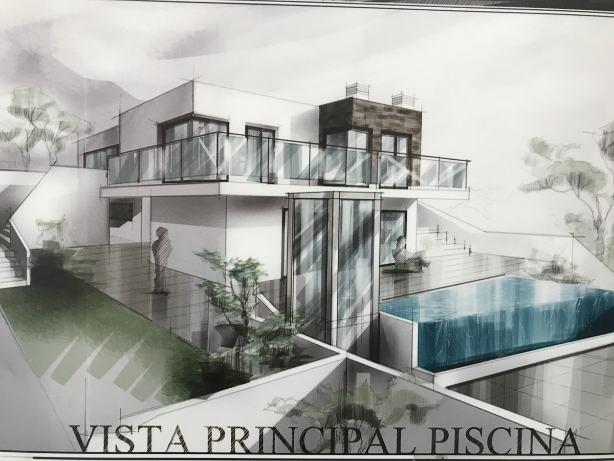 Fabulous villa that we find in one of the best plots of Sierra Gorda in Coin. The property will begi, Spain