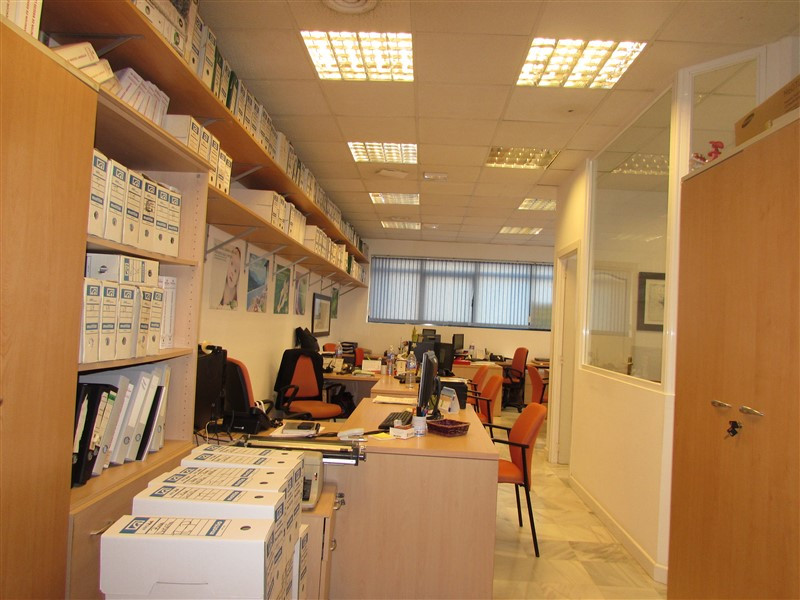 The sizeable business premises is located in the centre of Marbella.  Offering a large main office a, Spain