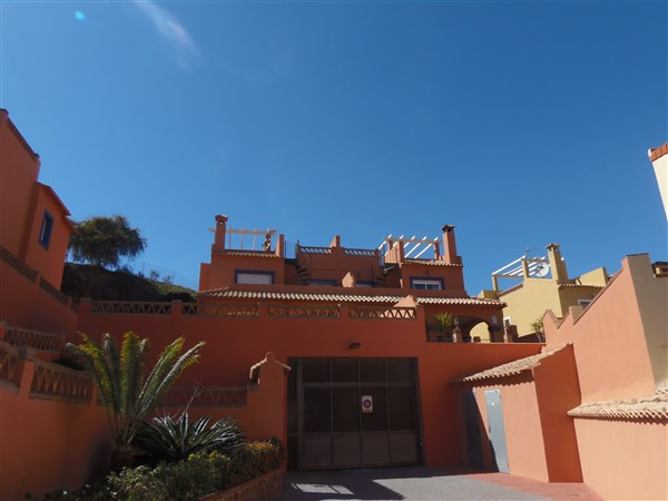 Fabulous townhouse found in Mijas Costa, in front of Castillo Sohail, close to the beach in a gated ,Spain