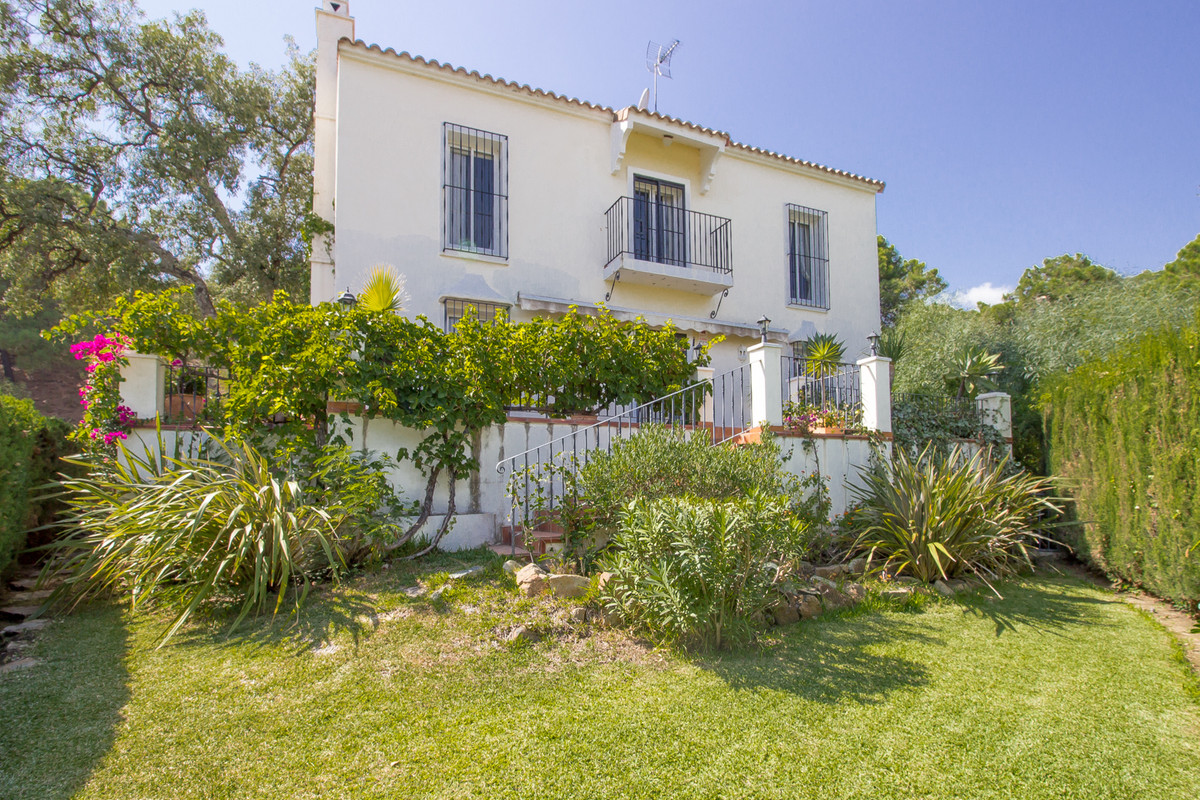 Situated in the gated community of El Madronal, this villa is accessed via an electric gate opening ,Spain