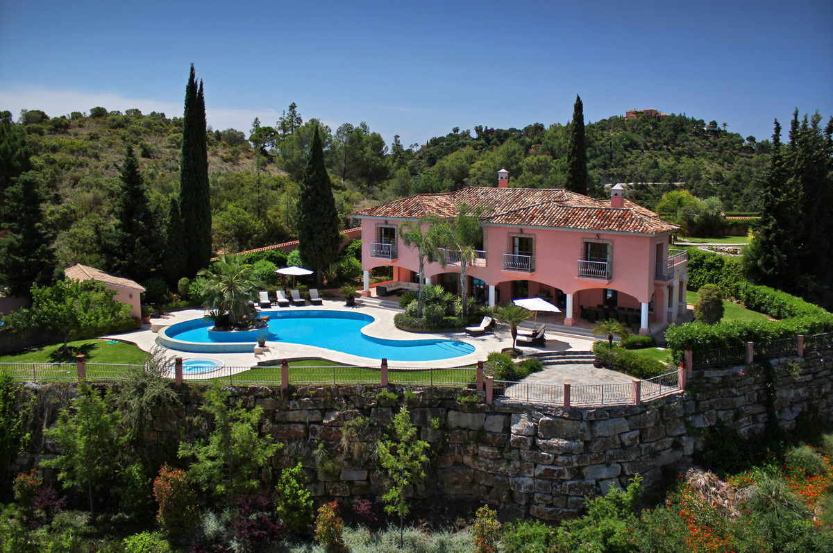 Casa San Bernardo is set in beautiful landscaped gardens complete with outstanding water features.  , Spain