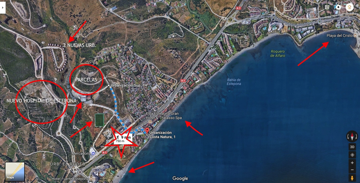 Building plot in Arroyo Enmedio of 13.673,56 m2 of which 8.384,77 m2 are buildable, to be able to bu, Spain