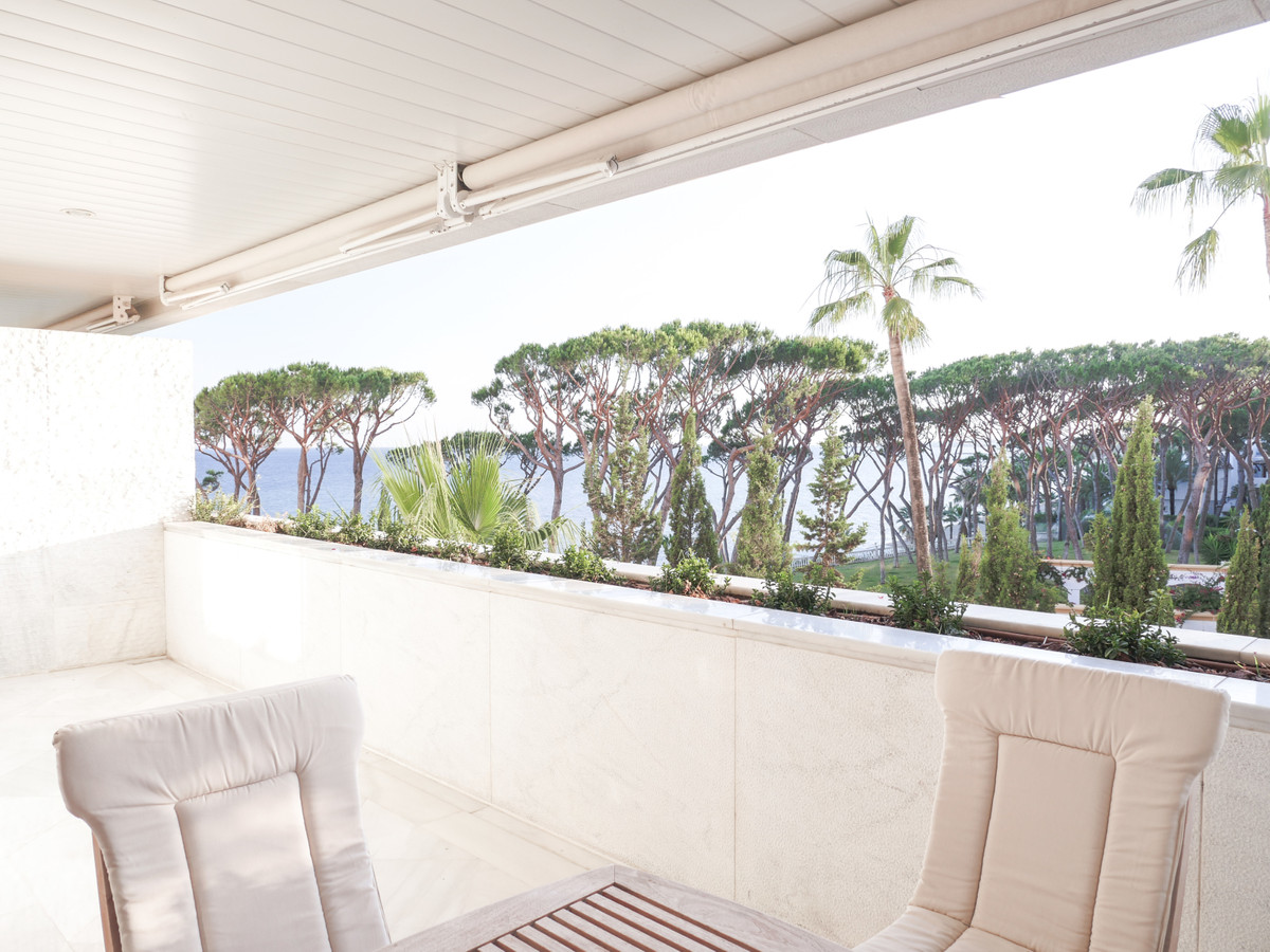 FIRST LINE BEACH IN MARBELLA Luxurious apartment with sea views on the beachfront. one of the best b,Spain