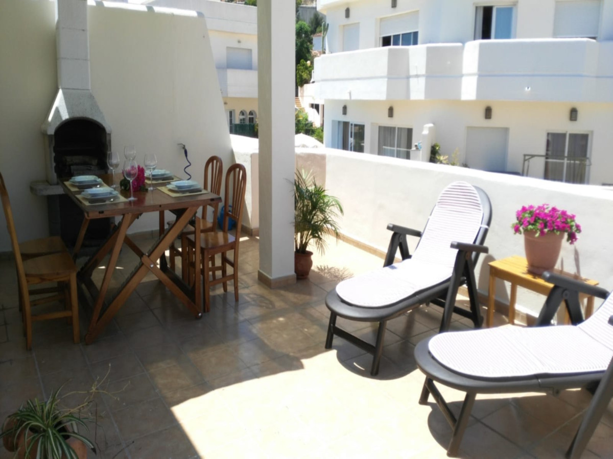 In perfect condition, closed urbanization. Heated pool and sauna. Small gym. Terrace from which you Spain