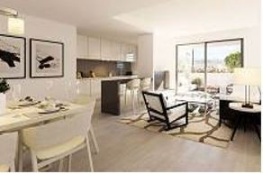 Ground floor apartment, 2 bedrooms, 2 bathrooms, high quality, air-conditioned, communal pool and ch, Spain