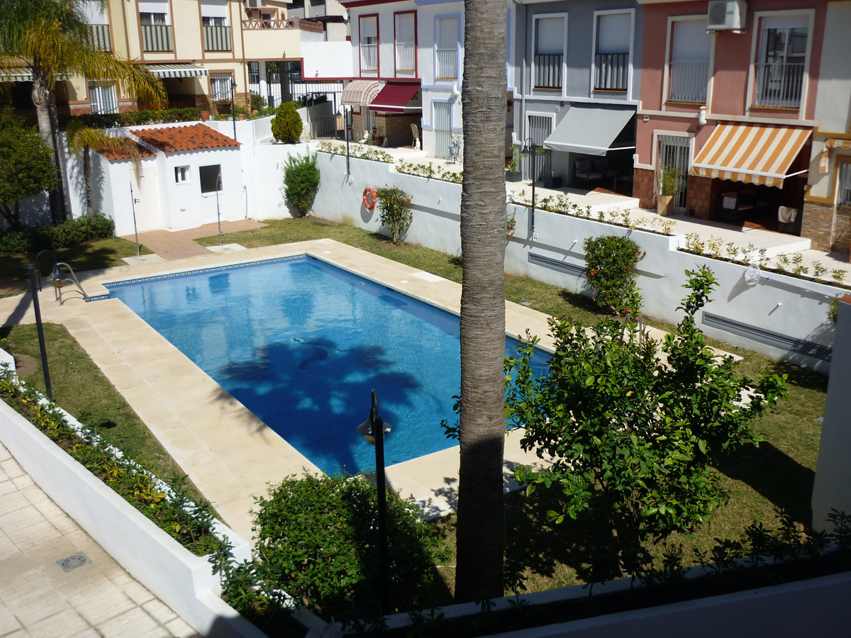 Fantastic house with two plants plus the garage in Las Lagunas, Mijas. Consists on the ground floor ,Spain