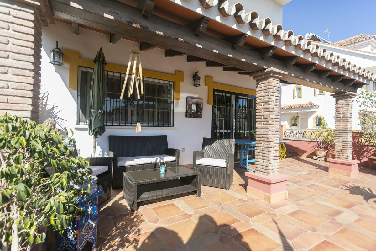 TOWNHOUSE IN ONE OF THE MOST DEMANDED AREAS OF MIJAS COSTA. THE URBANIZATION IS CLOSED WHAT PROVIDES, Spain